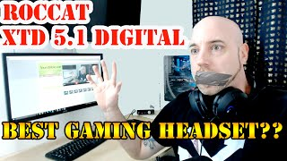 getlinkyoutube.com-Roccat Kave XTD 5.1 Digital Gaming Surround Sound Headset REVIEW