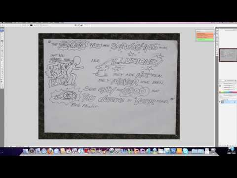 How to do a Time Lapse Drawing - Speed Drawing - Bob Proctor Insight