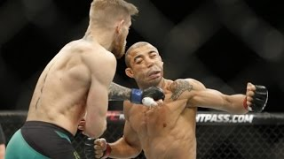 Conor McGregor KO's Jose Aldo In 13 Seconds at UFC 194