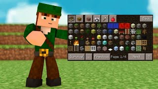 getlinkyoutube.com-MINECRAFT PE 0.14.0 - POCKET MANAGER MOD : TOO MANY ITEMS PARECIDO COM PC ? (POCKET EDITION)