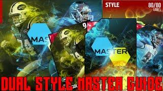 getlinkyoutube.com-Dual Style Master Guide   All Style Rating Line - Ups   94 OVR Gerald McCoy & Nick Mangold