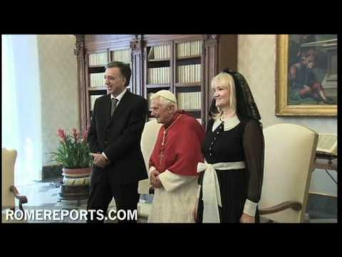 Pope meets with president of Montenegro to ratify bi-national agreement