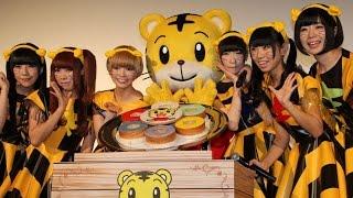 getlinkyoutube.com-でんぱ組.inc、子どもたちの「知ってる」に大喜び!映画「しまじろうと おおきなき」初日舞台あいさつ1 #Dempagumi.inc #Japanese Idol