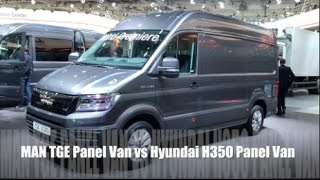getlinkyoutube.com-MAN TGE Panel Van 2016 vs Hyundai H350 Panel Van 2016