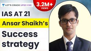 getlinkyoutube.com-IAS at 21 - Ansar Shaikh's Success Strategy - Unacademy (UPSC CSE)