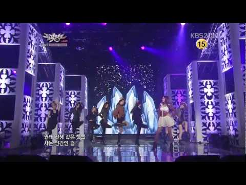 [111021] SNSD - The Boys  [Music Bank Comeback Stage]