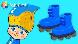 getlinkyoutube.com-Blue Skies Ahead | Color for Kids | Petey Paintbrush | BabyFirstTV