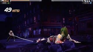 getlinkyoutube.com-Spider-Gwen Unboxing and Duel vs. Gamora | Marvel Contest of Champions