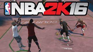 getlinkyoutube.com-NBA 2K16 MyPARK - I MADE HIM FAMOUS??!!