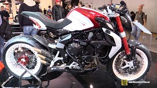 getlinkyoutube.com-2016 MV Agusta Brutale 800 Dragster RR - Walkaround - 2015 EICMA Milan