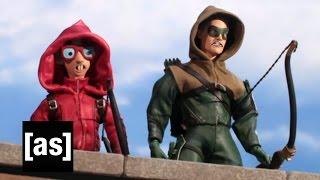 getlinkyoutube.com-The Nerd on the CW | Robot Chicken | Adult Swim