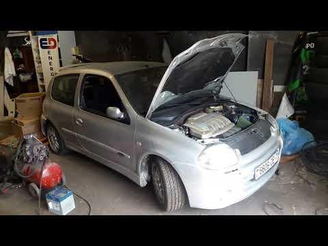 Где в Renault Клио находится датчик массового расхода воздуха