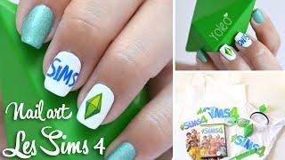 getlinkyoutube.com-Tuto Nail art - Les Sims
