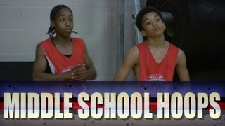 getlinkyoutube.com-Jashaun Agosto vs Jaylin Fleming - 2012 John Lucas Camp - Middle School Combine