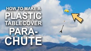 How To Make A Simple Parachute (For Rockets or Sky Balls)
