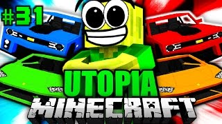 getlinkyoutube.com-Die ULTIMATIVEN HYPERAUTOS?! - Minecraft Utopia #031 [Deutsch/HD]