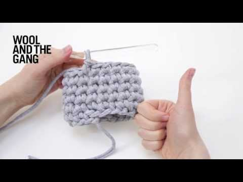 How to crochet: tubular crochet