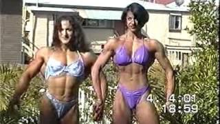 getlinkyoutube.com-Christine Envall : one of the biggest female bodybuilder