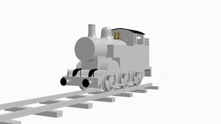 getlinkyoutube.com-3D Thomas The Tank Engine Model Test 1