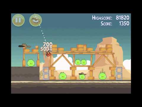 Angry Birds 3 star walkthrough for theme 12 levels 11-15
