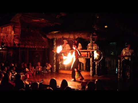 Preston Weber, Final Performance at Mai-Kai 11/21/2012, Single Knife.