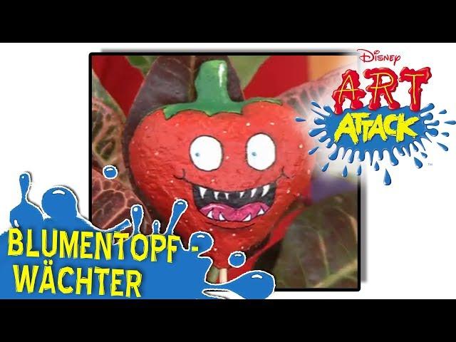 Art Attack Bastelclip #2 - Blumentopf-Wächter
