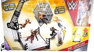 getlinkyoutube.com-WWE Crash Cage Ring Playset with Triple H Toy Toys R Us Exclusive Unboxing, Construction & Review!!