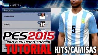 getlinkyoutube.com-PES 2015 TUTORIAL Como Insertar Kits/Camisas para PS3 (Copa America 2015)