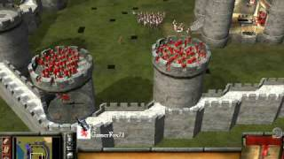 getlinkyoutube.com-Stronghold 2: Castle Defense