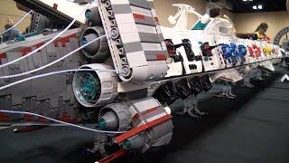 getlinkyoutube.com-LEGO Spear of Destiny 13-foot-long spaceship – Brickworld Chicago 2015