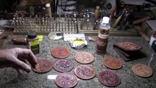 getlinkyoutube.com-Leather Tooling Dye Tip - Billy Hell