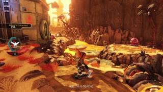 Ratchet & Clank (PS4) - Gaspar Gameplay
