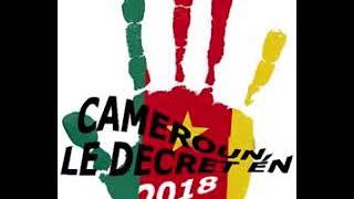 CAMEROUN: LE DÉCRET EN 2018