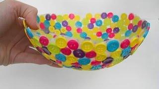 getlinkyoutube.com-Adorable DIY Bowls for Home Decor