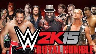 getlinkyoutube.com-Last Man Standing [Royal Rumble] - WWE 2K15 Gameplay, Commentary