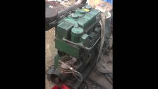 Start test and running a lister 3 cylinder generator