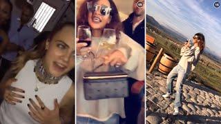 getlinkyoutube.com-Rihanna | Snapchat Videos Compilation (September 2015) (featuring Cara Delevingne & Sam Smith)