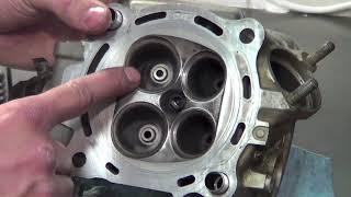 getlinkyoutube.com-Honda CRF Cylinder HEAD removal and install