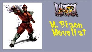 getlinkyoutube.com-Ultra Street Fighter IV - M. Bison Move List