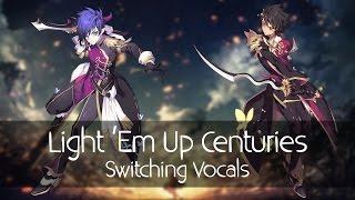 getlinkyoutube.com-Nightcore - Light 'Em Up Centuries (Mashup) (Switching Vocals)