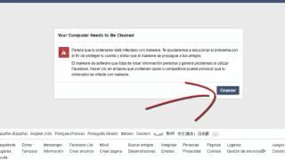 getlinkyoutube.com-Como Eliminar Malware de Facebook 2016 | Tutoriales RM