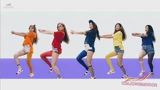 getlinkyoutube.com-Red Velvet - Dumb Dumb Dance Compilation [Mirrored]