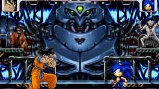 getlinkyoutube.com-Goku vs Sonic MUGEN Battle!!!