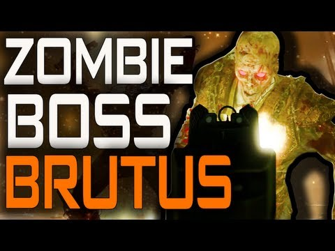 Mob Of The Dead: New Zombie Boss Brutus + How to Kill FAST! [BO2 Zombie Boss Gameplay]