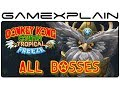 All Boss Fights in Donkey Kong Country: Tropical Freeze Boss Battles - 1080p Wii U - Japanese Ver.