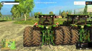 getlinkyoutube.com-Farming Simulator 2015 Mods - John Deers and Kenworth Semi American