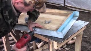 getlinkyoutube.com-Как обшить ульевые крышки металлом