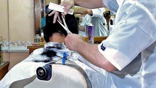 getlinkyoutube.com-Barbershop girl military cut FULL VIDEO