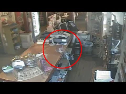 Fantasma es captado en una tienda de Estados Unidos (video)