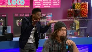 getlinkyoutube.com-Ernie's First Fight (Weirdest Fight Ever) - K.C. Undercover (Stakeout Takeout [HD])